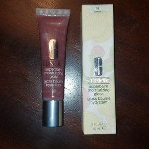 Clinique superbalm lip gloss 09 currant